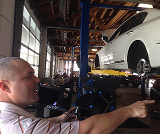 Hooman automotive dealership video production shoot
